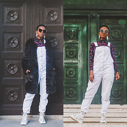 Oroma Roxella Rukevwe -  - HOW TO WEAR DUNGAREES IN WINTER.