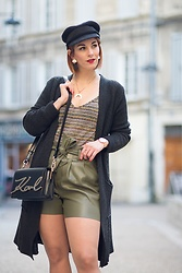 Amoureusement Mode Charlotte -  - # Khaki Color and Golden Trend