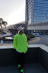 INWON LEE - Byther Shirts, Nike Shoes - Bright green