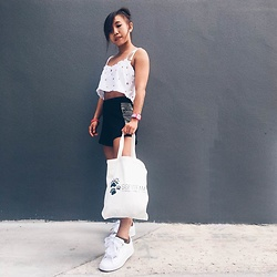 Simin Chen - Puma Basket Heart Trainers - Causal Tuesday