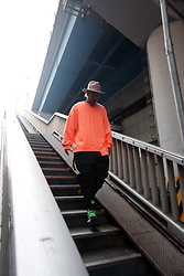 INWON LEE - Byther Shirts, Byther Shoes - Orange shirts