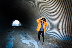 Emmanuel Martz - Jack & Jones Yellow Puffed Jacket - Light at the end of the túnel.