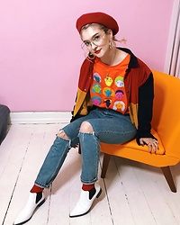 Alice Jones - Odd Lemon Teeshirt, Asos Shoes - Primary