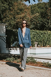Amy Marietta - One Teaspoon Blazer - How To Style An Oversized Blazer