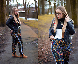 Emma Reay - Shein Jumper, Shein Joggers - WINTER STYLE DIARY