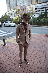 INWON LEE - Byther Suit - Keep stylish with brown suit