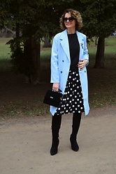 Butterfly Petty - Grace Karin Skirt, Mojito Boots, Guess Bag, Zaful Jacket - Spring outfit