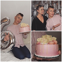 Jacob Żelechowski - Bershka Shirt - Birthday Cake (Birthday post 2019)
