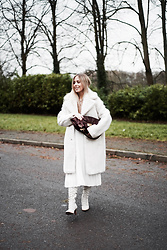 Daniella Robins - & Other Stories Coat - OOTD: The Whites Of Winter
