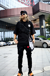 INWON LEE - Byther Shirts, Nike Shoes - Techwear look