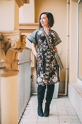 Lindsey Puls - Byron Lars Dress - 5 Tips for Shopping on Anthropologie + a $100 Gift Card Give