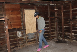 Donovan Alexander - Missoni Kindergarten Sweater, Timberland Pink Timbs, Levi's® 501's - Trying All Learning Avenues Lightly