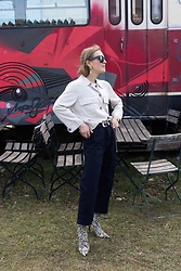 Anna Borisovna - Esprit Jacket, Massimo Dutti Belt, Esprit Jeans, Mango Shoes - The Esprit Look