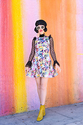Amy Roiland - Blackmilk Dress, Gucci Sunglasses - Rick and Morty