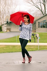 Lindsey Puls - Modcloth Rain Boots - Playing in the Rain