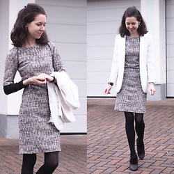 Claire H - Mango Dress - Business as usual