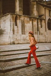 Alexe Bec - Arnhem Flare Pant, & Other Stories Top - Winter in Paris