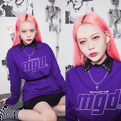 EUNBI EB -  - Purple look