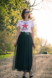 Lindsey Puls - Marvel Shirt, Newchic Tulle Skirt - The Winter Soldier