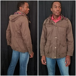 Thomas G - Ymi Olive Anorak Jacket, It Jeans Hottie - Olive Anorak Jacket - Coincides w/ previous outfit