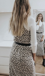 Vevas - Stradivarius Dress - Animal print