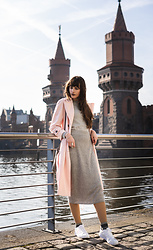 Andrea Funk / andysparkles.de - Zara Trenchcoat - Midi Skirt and Rose Trench