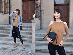 Daisyline . - Zara Sweater, Mango Shoes, Pull & Bear Bag - First day of spring / IG: daisylineblog