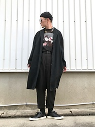 ★masaki★ - Neuw Denim Coat, New Order Tee, Ch. Trousers, Converse Prime Leather, Fragile All Items - Power Corruption & Lies