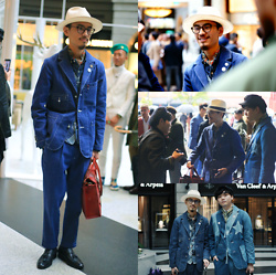 John Kuo - Syndro Denim Suit - Taiwan Suit Walk 2019