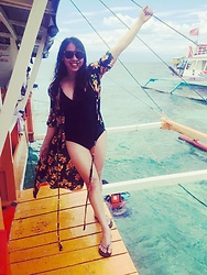 Marisil A - Penshoppe Swimsuit, Old Navy Slippers - 322  samal beaches