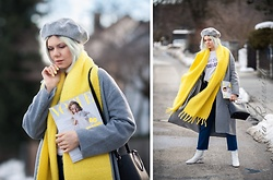 Maria R -  - Yellow Scarf