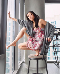 Gi Shieh - Urban Outfitters Knit Cardigan, Flirty Spring Dress - Spring is in the Air!