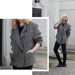 Iga Parker - Thrift Shop Oversize Coat - Oversize