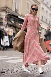 Anna Borisovna - Mango Dress, Céline Shoes - The mango dress