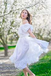 Alyssa Casares - Alyssa Nicole Marie Dress - Blossoming Orchards