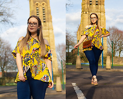 Emma Reay - Dresslily Tropical Print Blouse (Gifted) - SPRING STROLLING