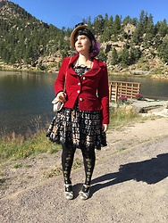 Badia Cupcake - Metamorphose Velvet Jacket, Angelic Pretty Moon Night Theater - Feeling Glamorous in the Rockies