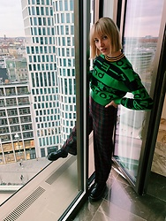 Maria Joanna - Forever 21 Sweater, Zara High Waist Pants, Dr. Martens Jadon - Are u a risk taker?
