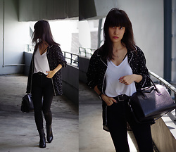 Clara . - Givenchy Bag, All Saints Shirt, Topshop Boots - Bnw