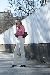 Ida - Mango Pants, Mango Sweater, Gucci Marmont Bag, Sunglasses - Spring fling