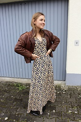 Anna Borisovna - Vintage Jacket, Minimum Dress - The Maxi Dress
