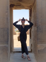 Cassey Cakes - Mango Dress - Guide to Visiting Egypt (Blog Post)