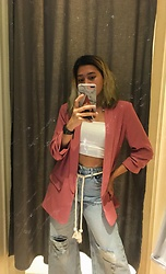 Nicole Saludar - Stradivarius Pink - Not my typical lewk