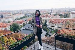 Cassey Cakes - Mango Coat, Mango Ankle Boots, Mango Bag, Mango Turtleneck Top - Prague (Blog Post)