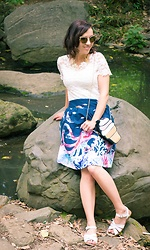 Lindsey Puls - Modcloth Skirt - The Octopus Skirt Strikes Again