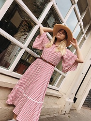 Dominique Malinowska - Sister Jane Gingham Dress - Gingham dreams