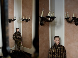 Piotr Czak - Zara Jacket, Zara Pants - BENTLEY TINTS ON, BAROQUE PRINTS ON