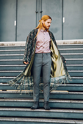 Maik - Stella Lavinia Coat, Asos Shirt, Cinque Trousers, Selected Homme Boots - Coat for spring