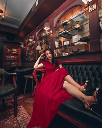 Kimberly Kong - Bcbg Red Gown - 40 Inspirational Quotes that will Change Your Life