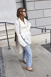 Anna Borisovna - Céline Blouse, H&M Pants, Flattered Shoes, Mango Bag - The Silk Blouse